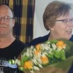 Hans samen met zijn vrouw Trudy