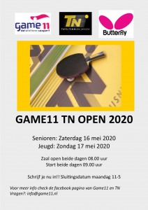 poster Game11 TN Open 2020